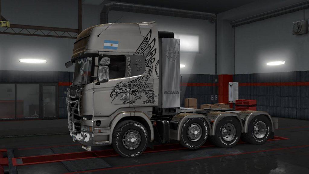 "Un Scania europeo y ""photoshopeado"""