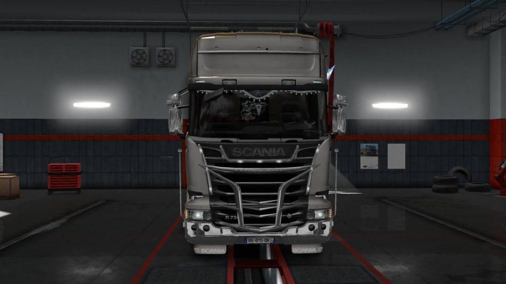 """Una más del Scania """"photoshopeado"""""""