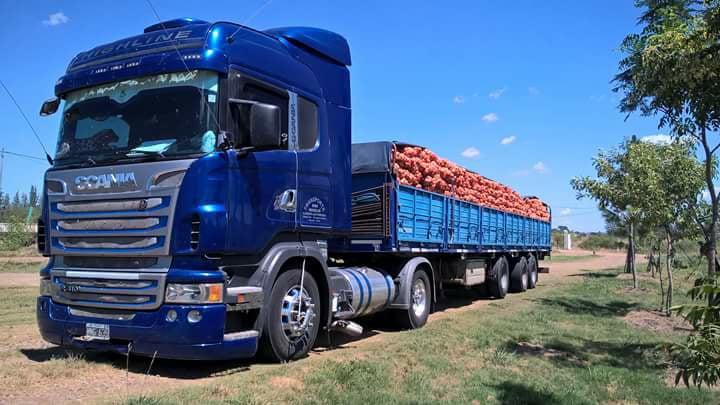 """Un Scania """"encebollado"""""""
