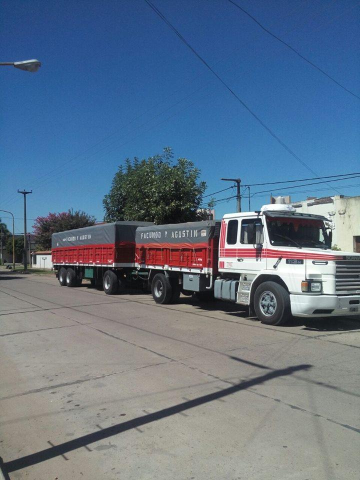 Hermoso equipo Scania