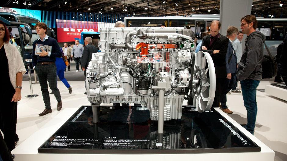 Motor OM470, el corazón del nuevo Actros