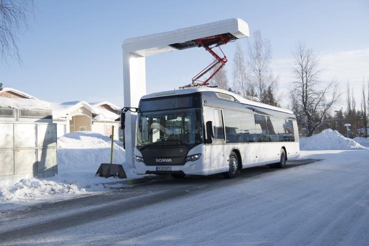 Sistema de carga rápida en las cabeceras del servicio