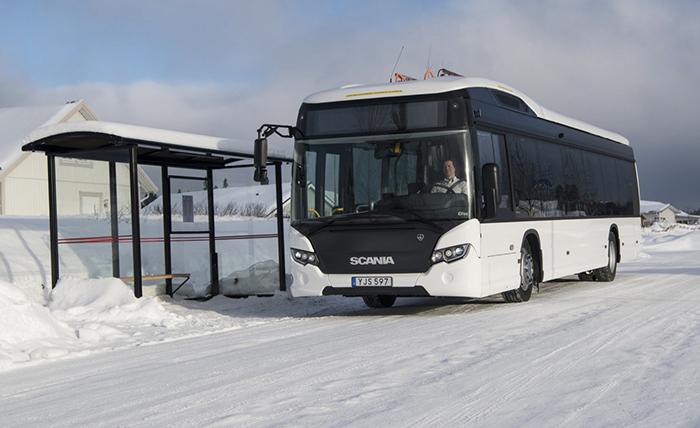 Los buses eléctricos de Scania fueron probados en condiciones extremas