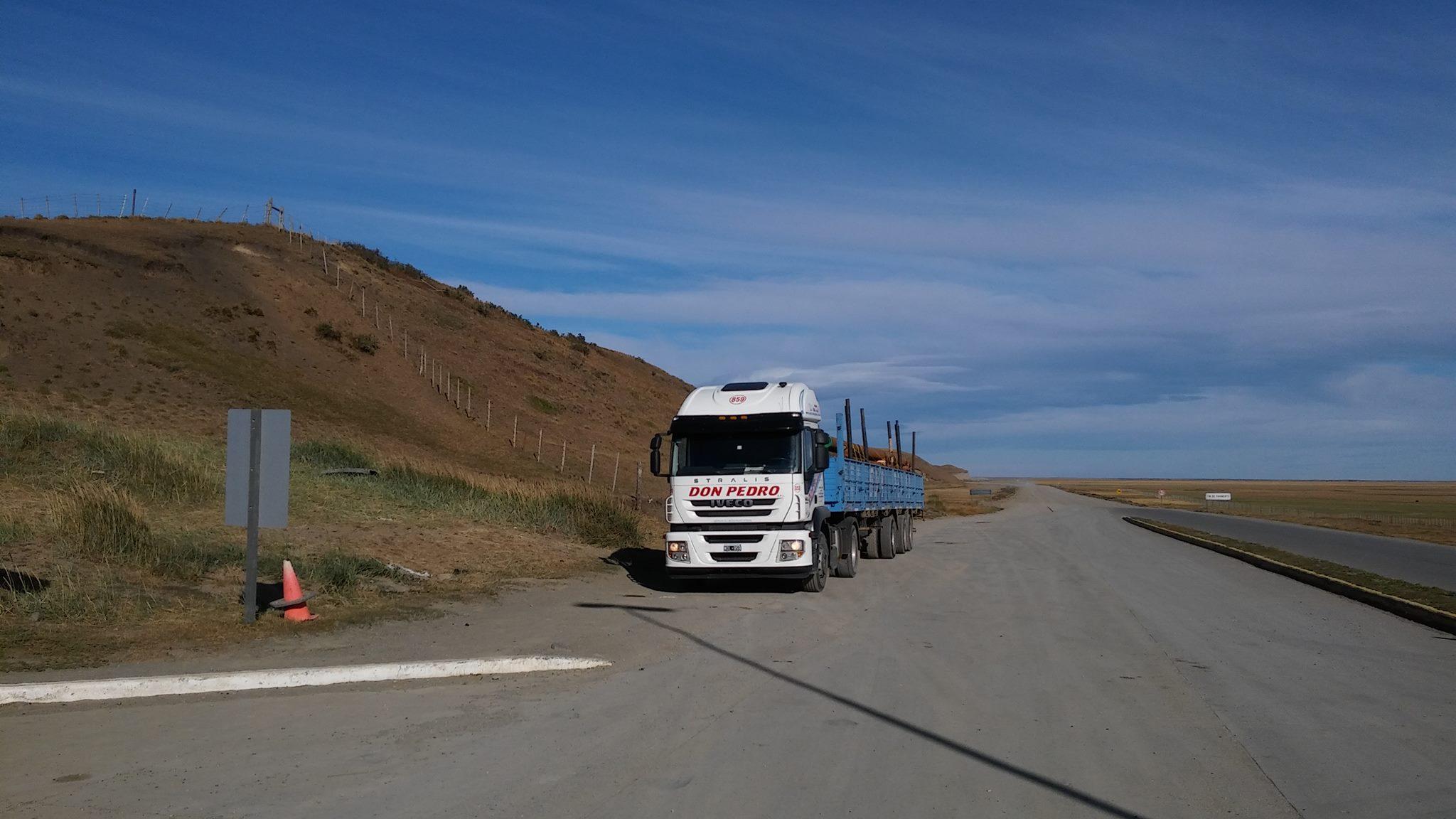 En las rutas patagónicas