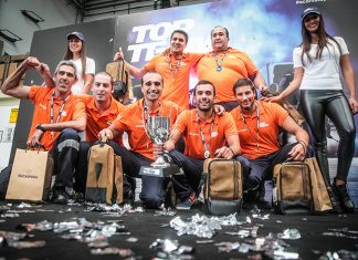 Scania Top Team, el equipo de Baisur se llevó el primer premio