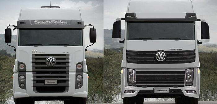 Nuevo VW Constellation, el mismo paisaje