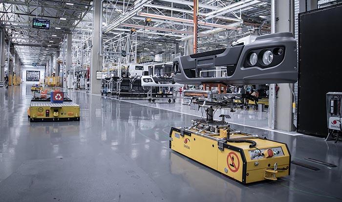Mercedes invirtió en herramientas, sistemas y procesos