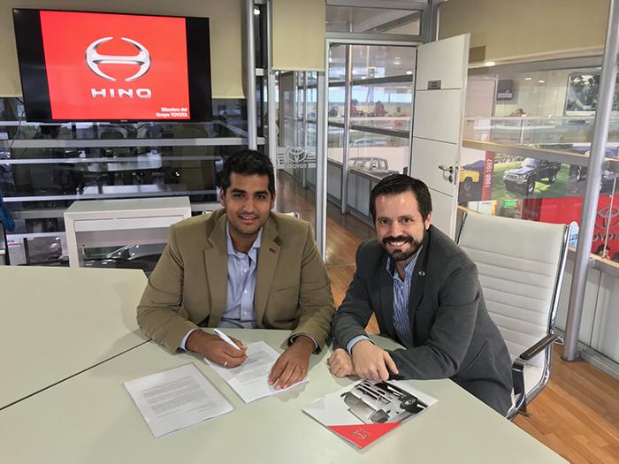 Avanz, nuevo concesionario Hino en Cuyo
