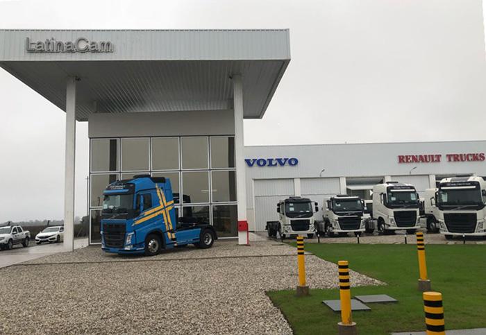 LatinaCam y Volvo, nuevo concesionario
