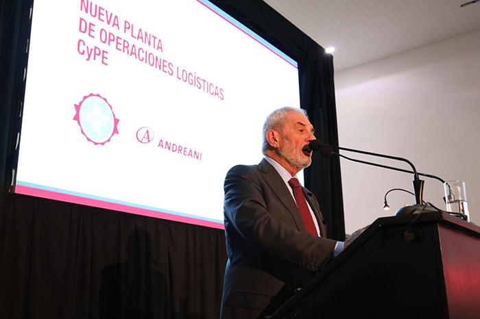 Inauguración CyPE Andreani