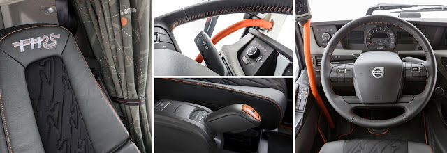 Volvo FH 25 Años Interior