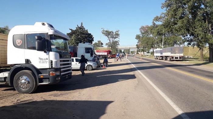 autoconvocados y trabajadores, crisis en el transporte