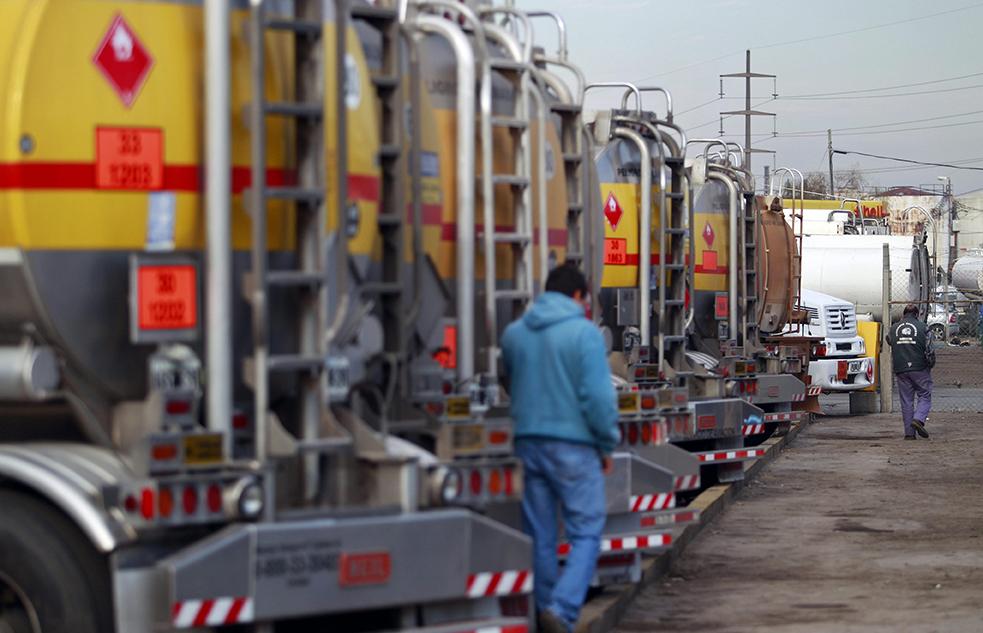 Huelga de camioneros Argentina