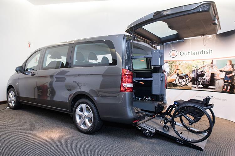 Mercedes Benz, Vito Plus, Accesible, Movilidad Reducida