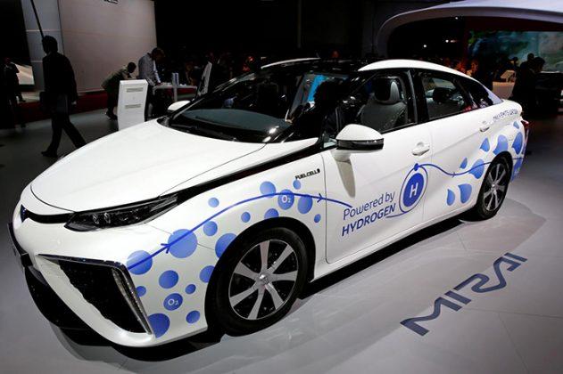 Toyota Mirai, el automóvil de la marca propulsado por hidrógeno