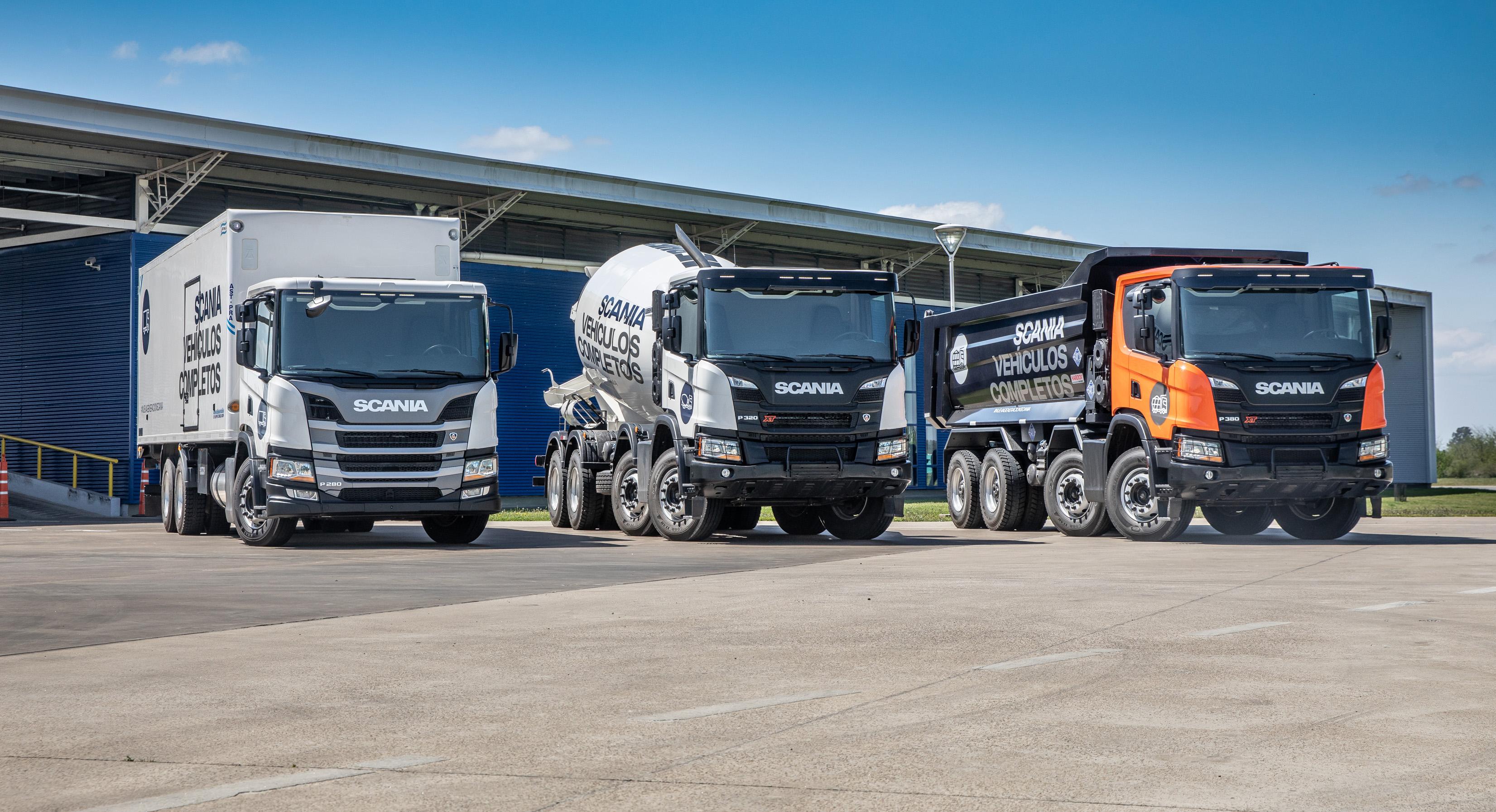 Vehículos Completos Scania