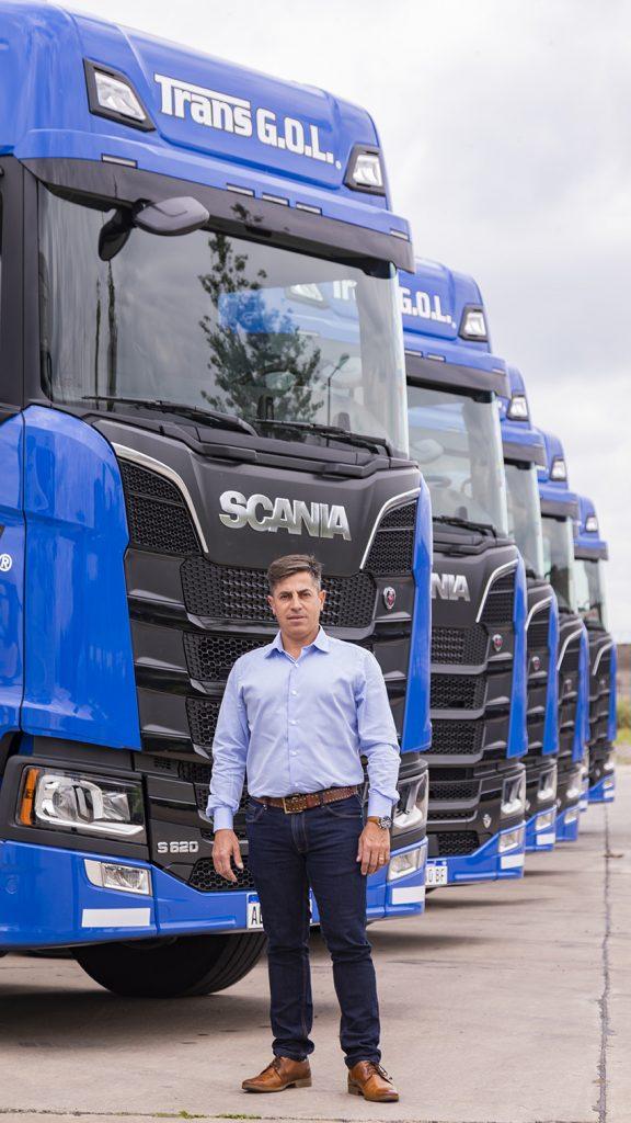 TRANS GOL incorporó la Nueva Generación Scania