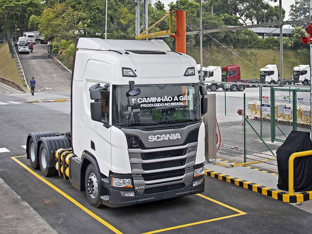 camiones a gas