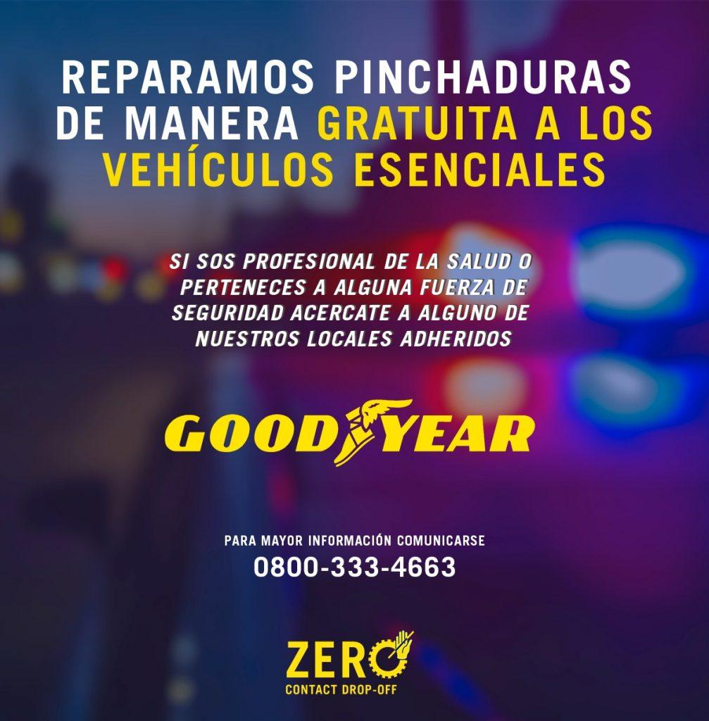 Goodyear servicio gratuito