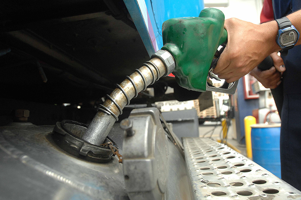 costos del transporte combustible