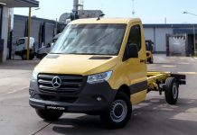 De Argentina a Estados Unidos Mercedes Benz Sprinter