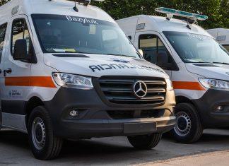 ambulancias Sprinter para el Chaco