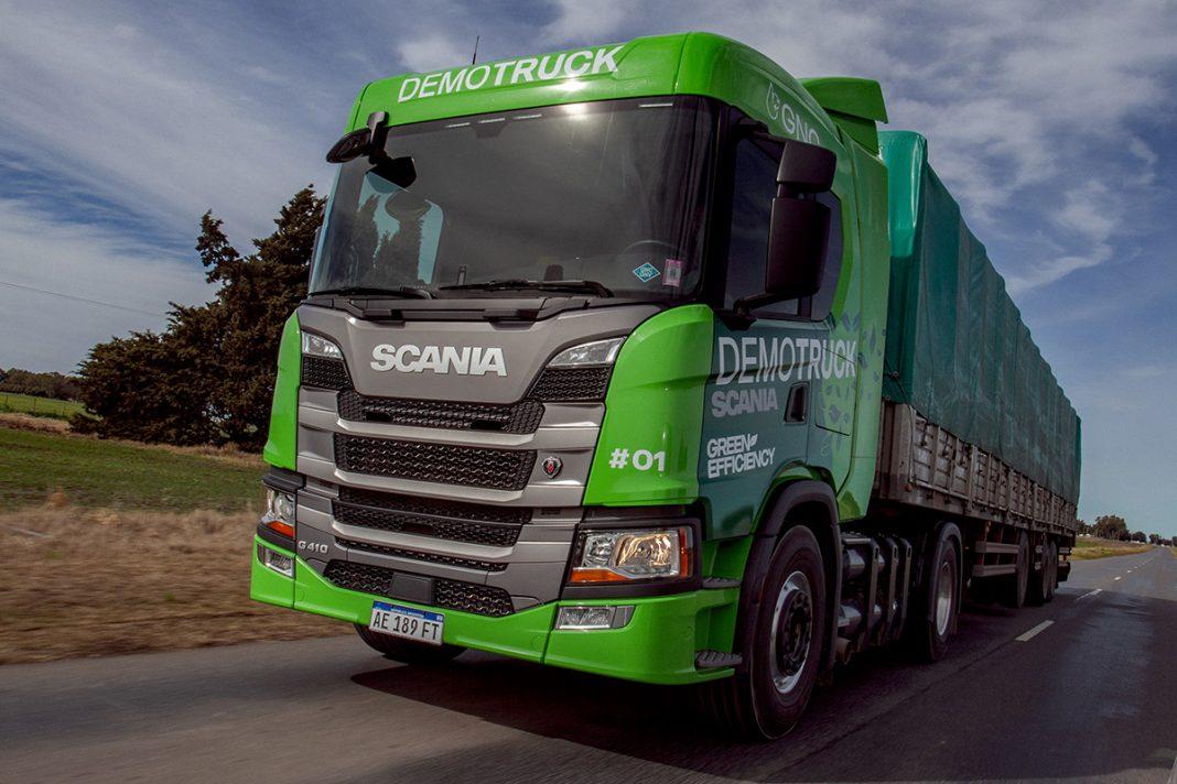 probó y compro camiones Scania a GNC