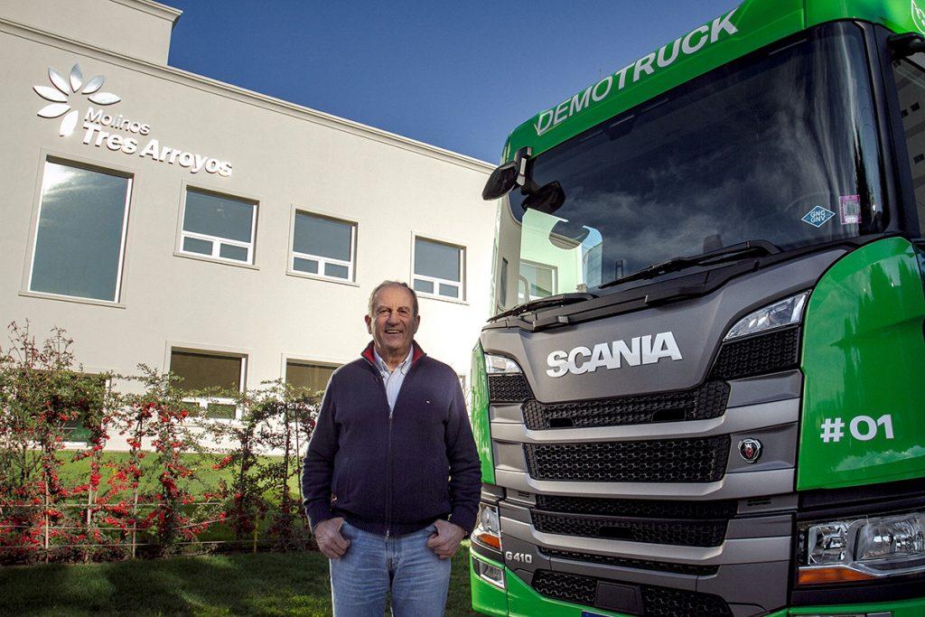 Probó y compró camiones Scania a GNC