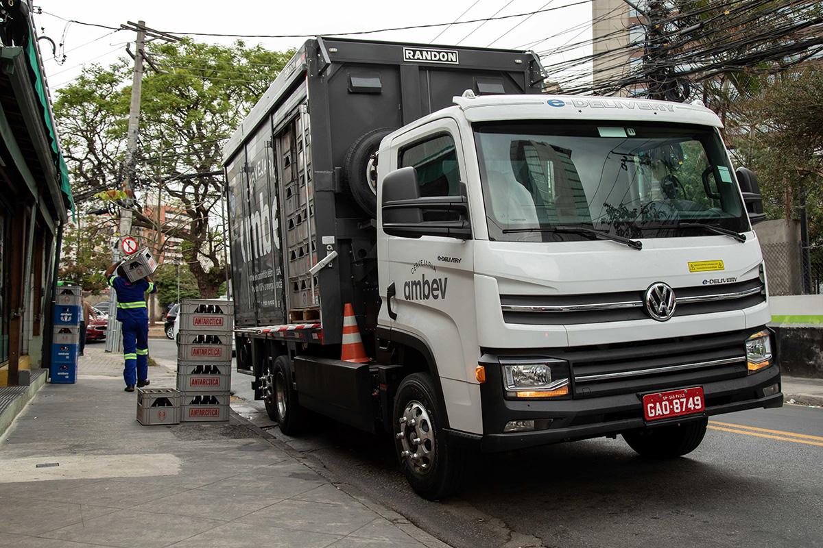 camiones eléctricos Volkswagen e-Delivery
