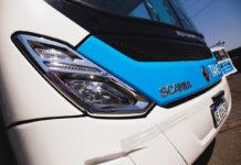 Córdoba prueba buss a GNC de Scania Argentina