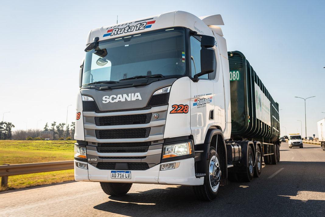 Ruta 12 adquirió nuevos camiones Scania