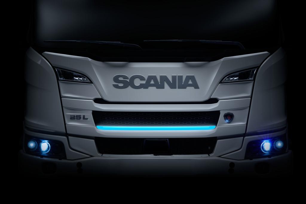 Scania presentó su gama de camiones eléctricos