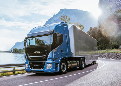 camiones a GNL