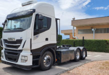 primeros 100 camiones a GNC
