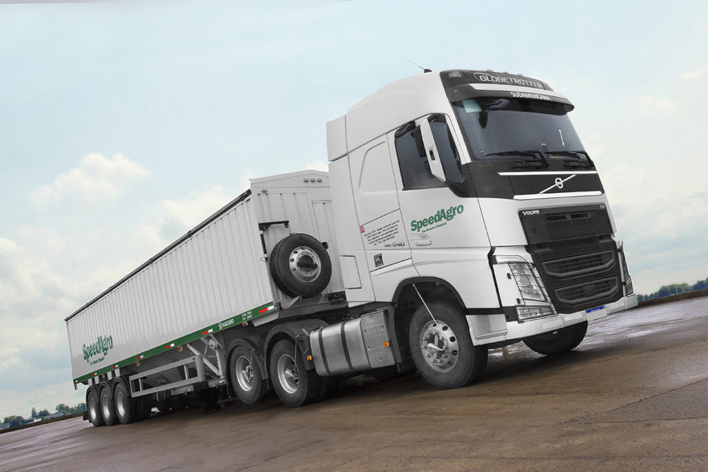 apeedagro adquirió 35 Volvo FH 540