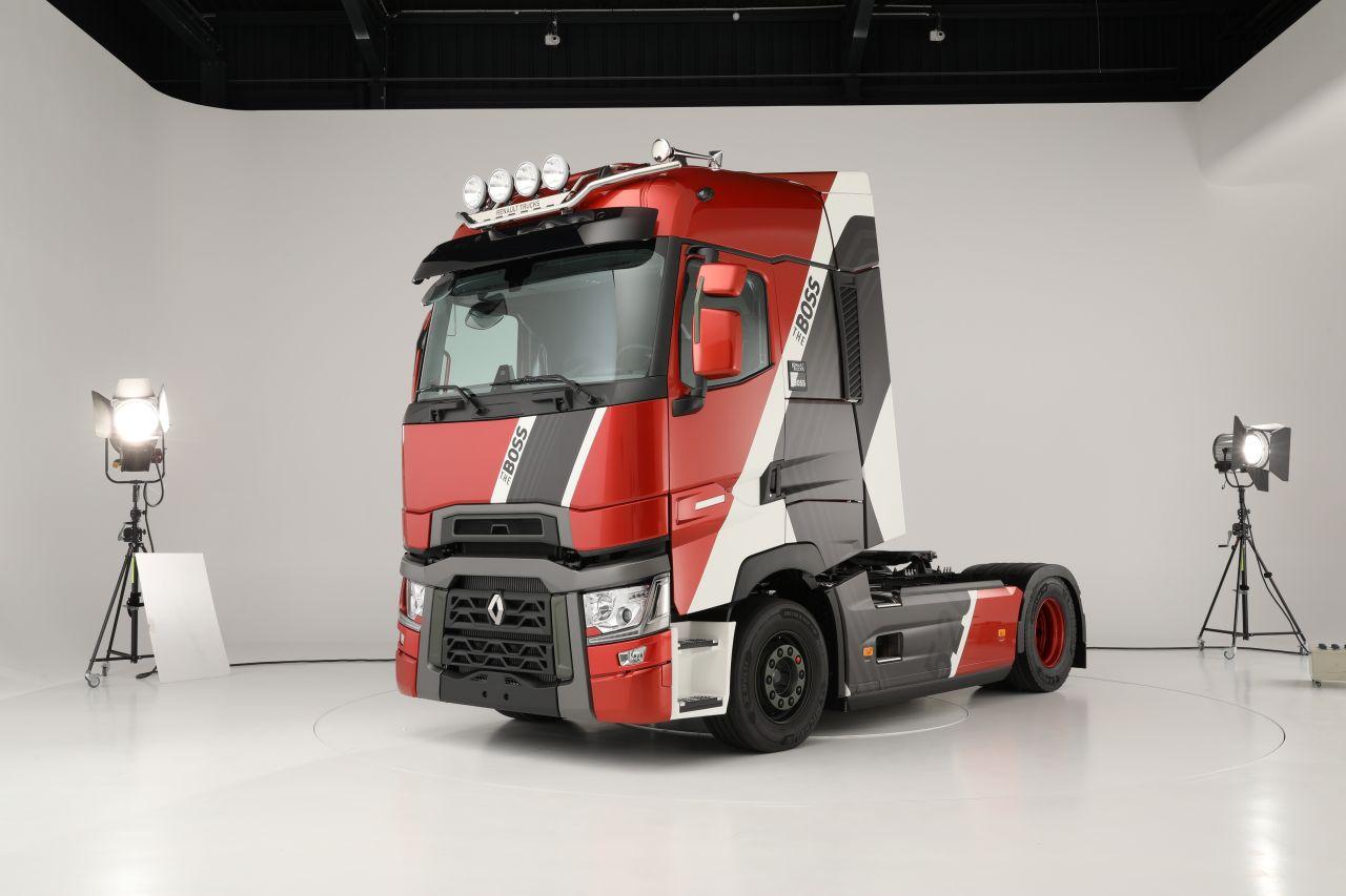 Renault Trucks lanzó una edición limitada de su T-High 520 Cv