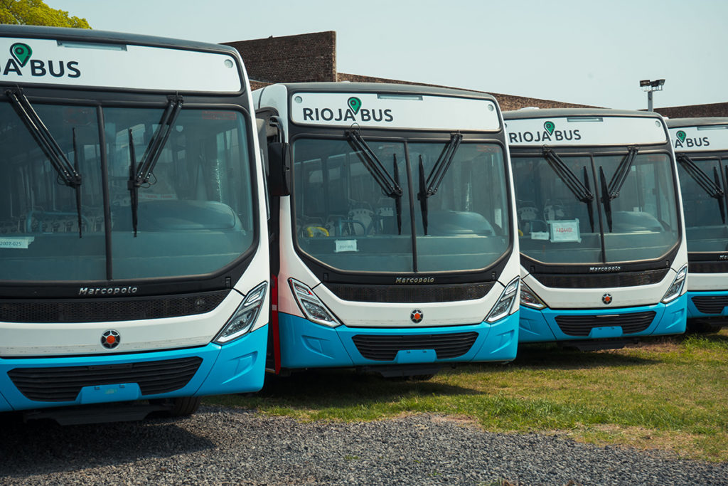 La Rioja incorporó 60 buses Volkswagen