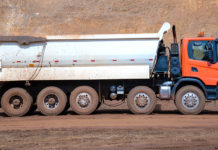 Poderoso nuevo Heavy Tipper Scania
