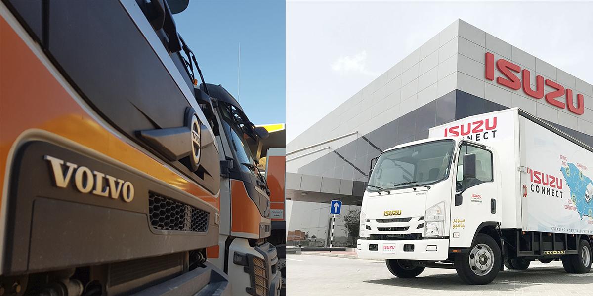 Alianza estratégica Volvo-Isuzu