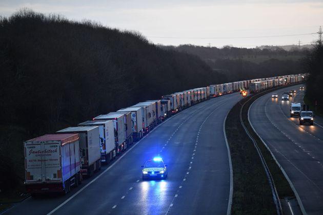 Clavada en el cruce entre el Reino Unido y Francia