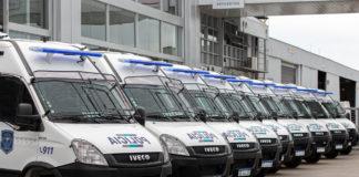 Unidades IVECO Policía Provincia de Buenos Aires