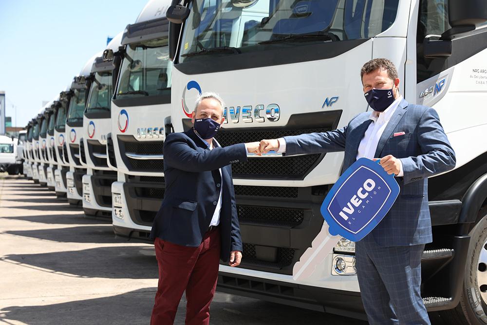 Entrega de camiones IVECO a GNC