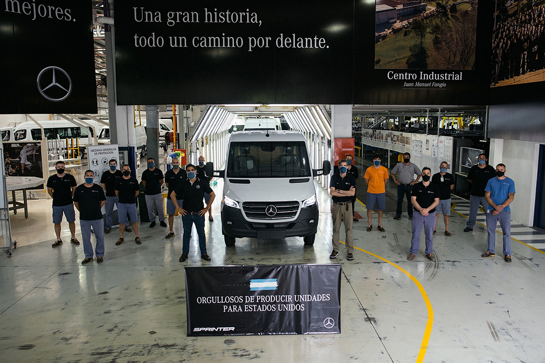 Mercedes Benz vuelve a exportar a USA