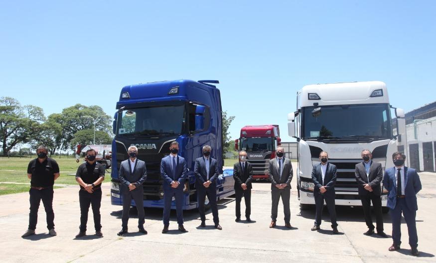 Inversiones y trabajo. Scania Argentina. Tucumán