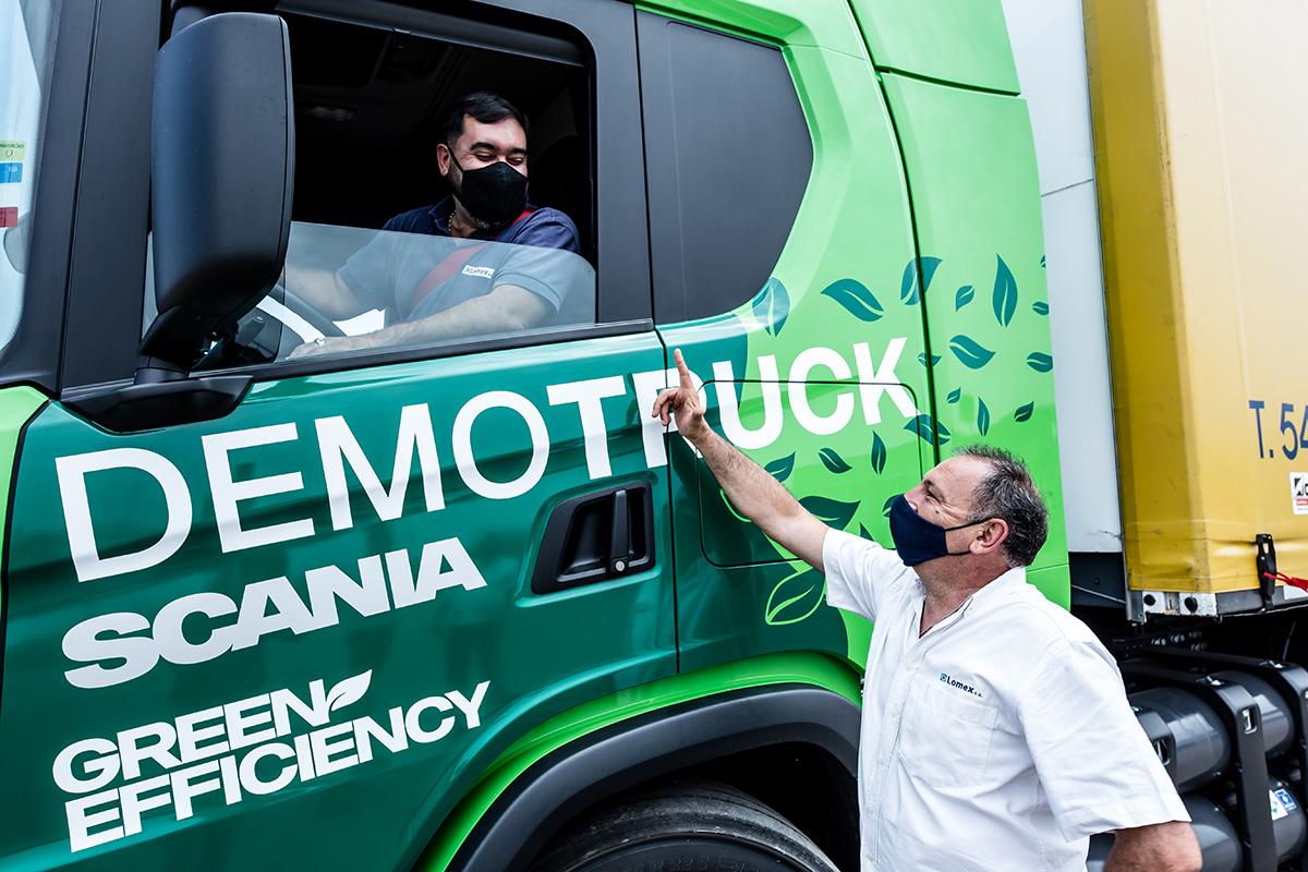 20 mil dólares de ahorro con camiones Scania a GNC