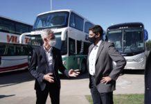 Meoni visitó Sueca Vehículos Pesados