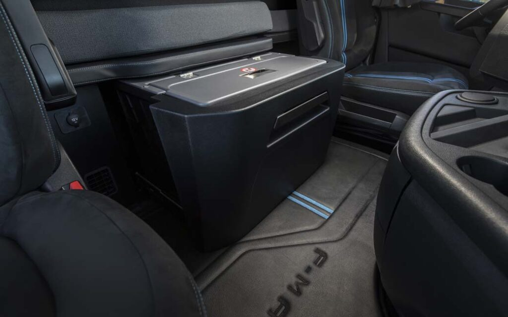 Ford Camiones interior