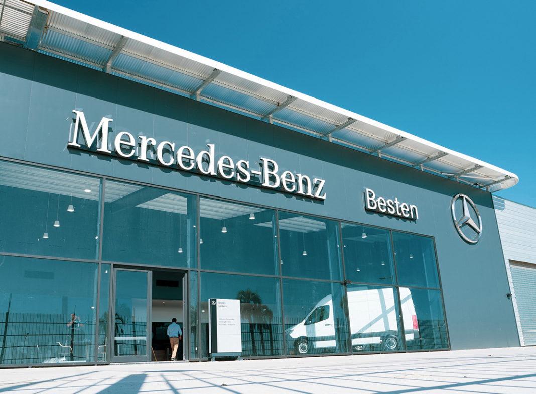 Ubicación estratégica Besten Mercedes Benz