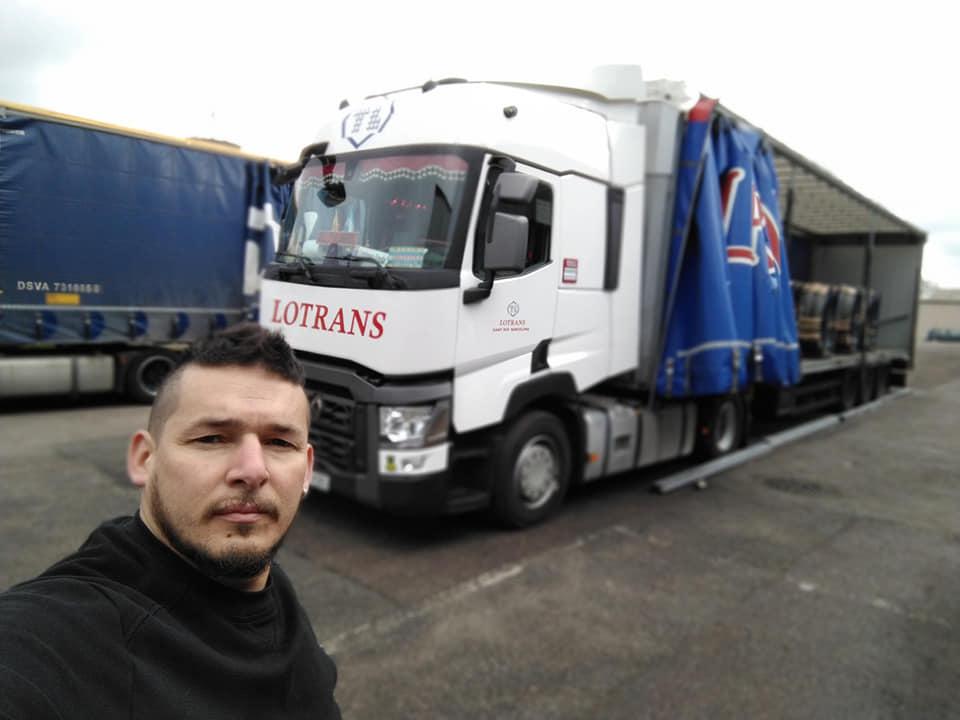 Experiencia: Camionero argentino en Europa