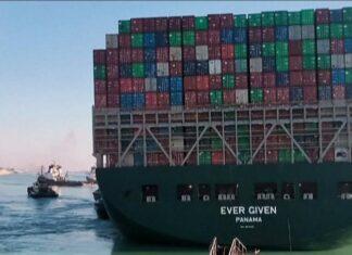 Canal de Suez buque desencallado